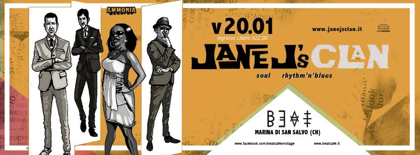 20.01.17 | JANE J's CLAN (live)