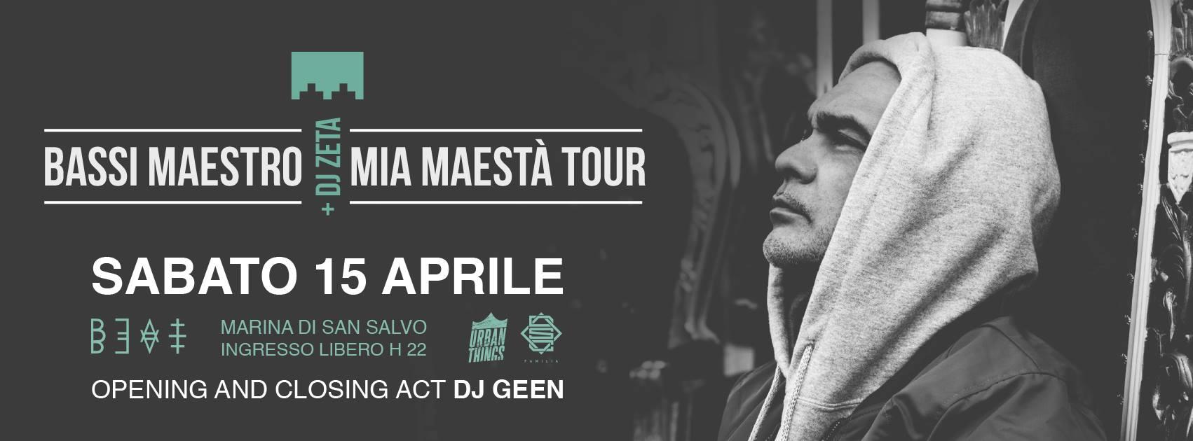 15.04.17 | BASSI MAESTRO + DJ ZETA