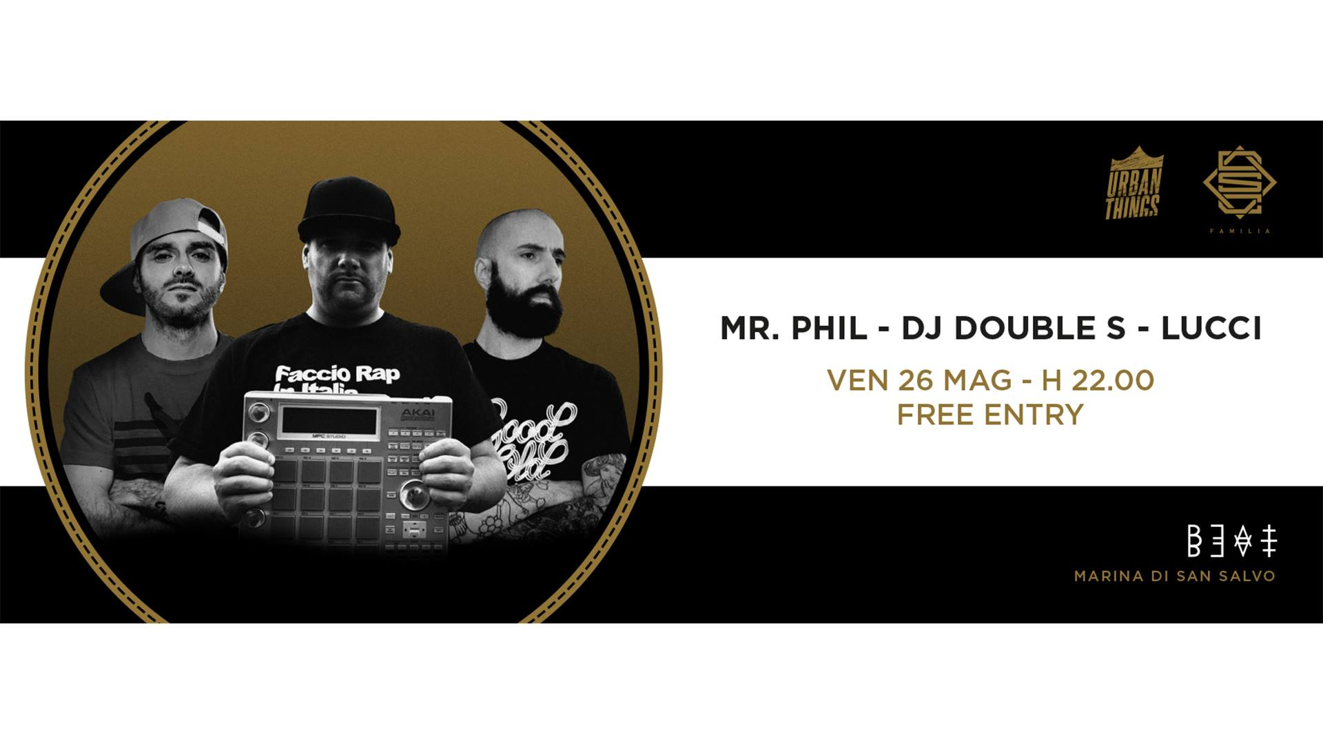 26.05.17 | MR. PHIL + DJ DOUBLE S + LUCCI BROKENSPEAKERS