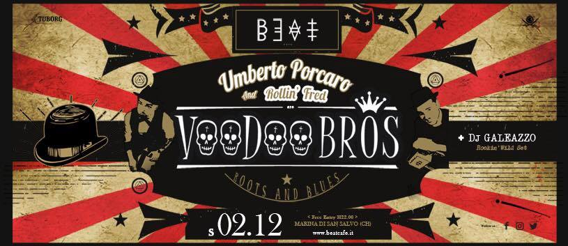 02.12.17 | Voodoo Bros. Roots & Blues Live + Dj Galeazzo