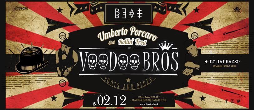 02.12.17 | Voodoo Bros. Roots & Blues Live + Dj Galeazzo