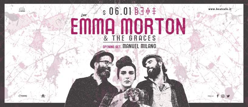 06.01.18 |  EMMA MORTON & THE GRACES + MANUEL MILANO