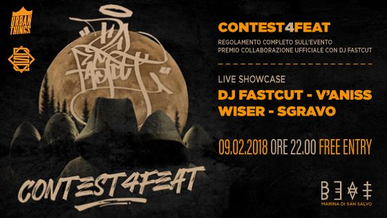 09.02.18 | DJ FASTCUT + CONTEST4FEAT