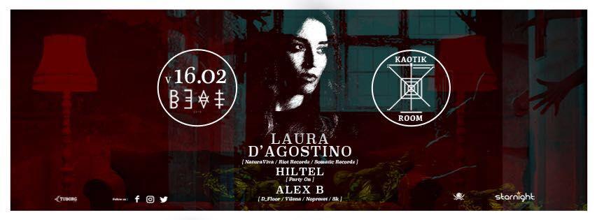 16.02.18   KAOTIK ROOM #1 W/ Laura D'Agostino