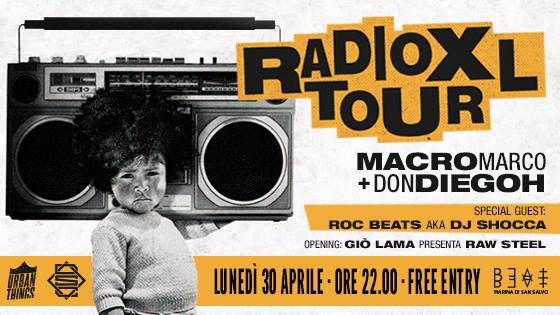 30.04.18 | MACRO MARCO & DON DIEGOH + ROC BEATS Aka DJ SHOCCA