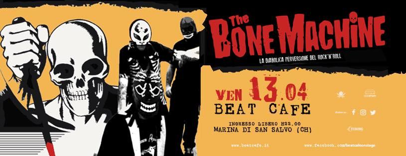 the bone machine beat cafe