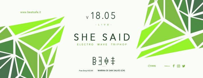 18.05.18 | SHE SAID
